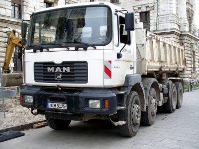 MAN_FE_360A_dump_truck